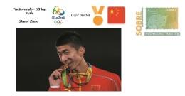 Spain 2016 - Olympic Games Rio 2016 - Gold Medal Taekwondo Male China Cover - Juegos Olímpicos