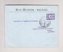 Irak BAGDAD 1904 Brief Nach Interlaken Ankunfts-Stempel 23.1.1904 Mit 1 Piastre Frankiert - Iraq