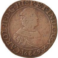 Belgique, Token, Spanish Netherlands, Charles II, Anvers, Bureau Des Finances - Pays-Bas