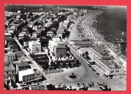 Cattolica Vista Dall'alto. Piazza Primo Maggio. Fontana Delle Sirene. Hotel Kursaal. 1953 - Rimini