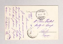 Türkei 10 Para Auf Ansichtskarte Von Top-Kopou - 1921-... Republik