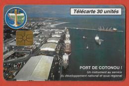 Port De Cotonou , 30U , 10000 Ex.