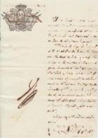 E484 CUBA SPAIN ESPAÑA 1843. LICENCIA MILITAR PARA CASARSE. REGIMIENTO DE INFANTERIA DE LA CORONA. MILITAR LICENCE - Documentos Históricos