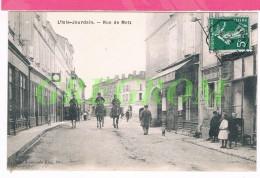 86 : L'ISLE JOURDAIN Rue De Metz , Cavaliers - L'Isle Jourdain