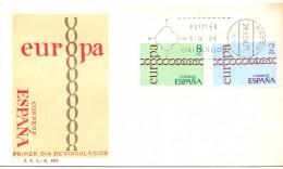 FDC -  SPAGNA - EUROPA  - ANNO 1971 - 1971