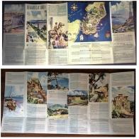 REGGIO CALABRIA - DEPLIANT / BROCHURE - PIEGHEVOLE - ANNI ' 50 - Tourism Brochures