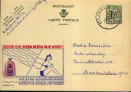 Carte Postale PUBLIBEL 1177 : NIVEA - Belle Oblitération De SIJSELE - Entiers Postaux