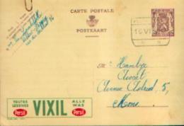 Carte Postale PUBLIBEL 886 :VIXIL -  Oblitération RECTANGULAIRE De VILLERS-PERWIN (10.VI.1950) - Publibels