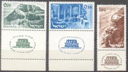 1964 Massada Stronghold Bale 303-5 / Sc 272-4 / Mi 317-9 MNH / Neuf / Postfrisch [gra] - Israel