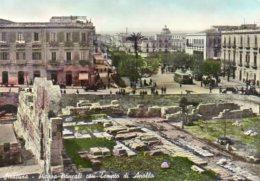 Siracusa - Piazza Pancali Con Tempio Di Apollo - Siracusa
