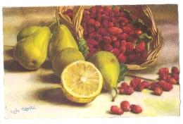 CHIOSTRI - ART DECO POSTCARD 1930s - EDIT BALLERINI & FRATINI - FRUITS  - N. 279 - Chiostri, Carlo