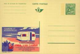 Carte Postale Neuve PUBLIBEL 2472F CARAVANING VAN DAMME à NALINNES BULTIA - Ganzsachen