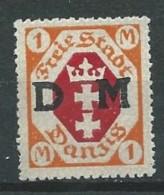 Allemagne - Danzig - 1921 - Michel 11 - Neuf - Dantzig