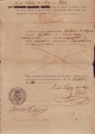 E769  ESTADOS UNIDOS US PASSPORT BOSTON US CONSULATE SPAIN TO CUBA 1840 ESPAÑA SPAIN. PASAPORTE. CONSULADO ESPAÑA - Historische Documenten