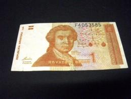 CROATIE 1 Dinar 08/10/1991 ,pick KM N° 37,CROATIA - Croatie
