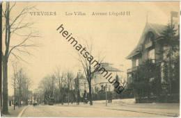 Verviers - Les Villas - Avenue Leopold II - Feldpost - Verviers