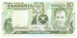 Tanzania 10 Shillingi 1978 UNC - Tanzanie