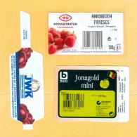 3 étiquettes Fruit + Légume (labels) - Fruits & Vegetables