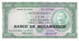Mozambique - Pick 117 - 100 Escudos 1976 - Unc - Mozambico