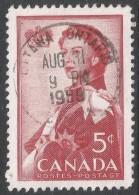 Canada. 1959 Royal Visit. 5c Used. SG 512 - 1952-.... Reign Of Elizabeth II
