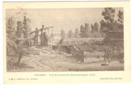 ANVERS   ----   Vue De La Porte Du Kronenburg En 1858 - Antwerpen