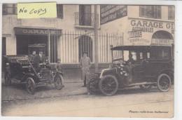 BORDEAUX  : Devanture Du  Garage Girondin Chaussade Frères - Superbe Carte éditée Salns Légende - Bordeaux