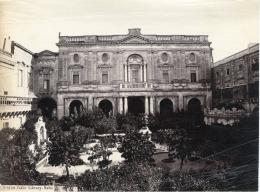 Malte, La Valette, La Bibliothèque, Public Library, La Bibliotheca  Vintage Albumen Print,     Tirage Albumin& - Non Classificati