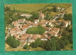 Fources Vue Générale Aérienne 2 Scans (32-Gers) Ancienne Place Forte Bastide Fortifiée De Type Circulaire - Other Municipalities