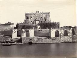 Malte, Fortifications à Identifier Vintage Albumen Print,     Tirage Albuminé   19x25   Circa 1875 - Non Classificati