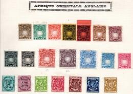 AFRIQUE ORIENTALE - 21 Timbres Neufs * Et Oblitérés - Départ 15 € - Lire Descriptif - - Kenya, Uganda & Tanganyika