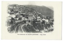 CAP D´AIL (Alpes Maritimes,06) Vue Générale De SAINT-ANTOINE - Voies Ferrées - Photo J. Bador - Cap-d'Ail