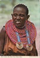 Kenya Masai Woman In Traditional Costume - Kenya