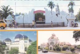 Sumatra Medan Central Porst Office & Monument Of Sisingamangaraja - Indonesia