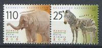 102 KAZAKHSTAN 2007 - Elephant Zebre - Neuf Sans Charniere (Yvert 504/03) - Kazakhstan