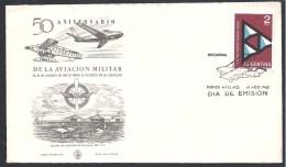 ARGENTINA 1962 50 ° ANIVERSARIO AVIACION - FDC
