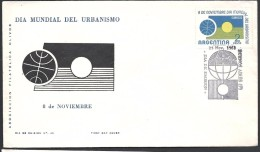 ARGENTINA 1961 DIA MUNDIAL DEL URBANISMO - FDC