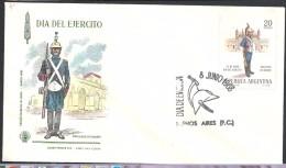 ARGENTINA 1968 DIA DEL EJERCITO - FDC