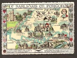 Le Sarladais En Périgord : Beynac ,Salignac , Beynac , Cadouin , Castelnaud , Carsac , Souillac - Sonstige Gemeinden