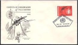 ARGENTINA   1962 CAMPAÑA DE ERRADICACION DEL PALUDISMO - FDC