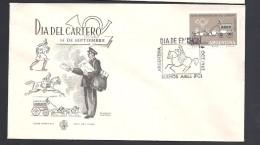 ARGENTINA   1962 DIA DEL CARTERO POSTMAN DAY - FDC