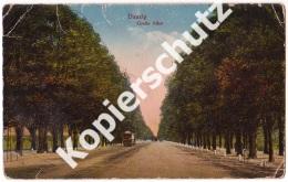 Danzig, Große Allee  1918  (z3271) - Danzig