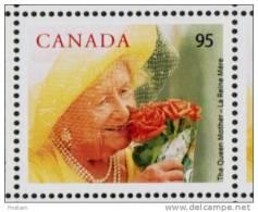 CANADA, 2003, # 1856, A ROYAL CENTENARIAN : Elizabeth The Queen Mother Single MNH