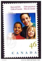 CANADA, 2000. # 1857,  BOYS & GIRLS CLUBS OF CANADA         ,  MNH - 1952-.... Règne D'Elizabeth II