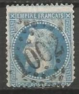 France - Obl. GC1002 CHERBOURG Sur Timbre Napoleon III Et/ou Cérès - N°29 - Marcofilie (losse Zegels)
