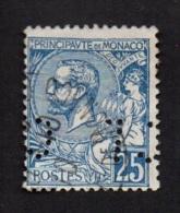 N° 25 - Prince Albert I - 1891/94 - Ob Et Perforé: CL ? (verso Voir Scan) - Oblitérés