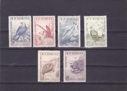 #139  ANIMALS, EAGLE, FISHES, BIRDS, TURTLE, DUCK, 6X STAMPS, Mi.1833/38, 1960, MNH** , ROMANIA. - Nuevos