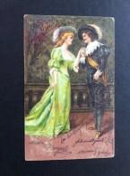 AK PAARE COUPLE  SER.800, Nr.1881.ANSICHTSKARTEN 1905 - Couples