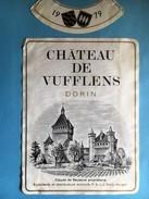 1513 - Suisse Vaud Château De Vufflens 1979 - Etiquettes