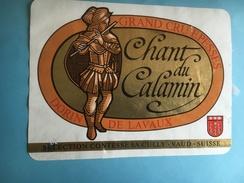 1515 - Suisse Vaud Epesses Chant Du Calamin - Bateaux à Voile & Voiliers