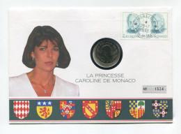 """Monaco 2 Francs 1979 UNC Lettre """" La Princesse CAROLINE De Monaco """" # 2 - Monaco"""